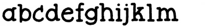 Butterzone Regular Font LOWERCASE