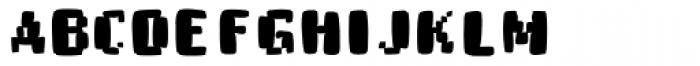 Buttmap Font UPPERCASE