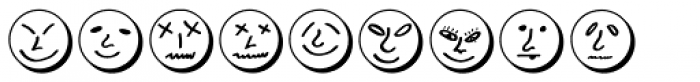 Button Faces Demi Font OTHER CHARS