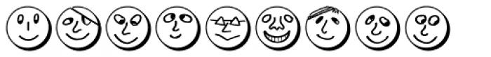 Button Faces Demi Font LOWERCASE