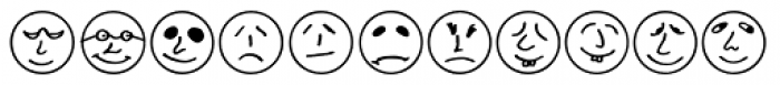 Button Faces Font UPPERCASE