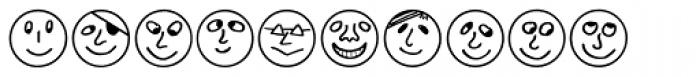 Button Faces Font LOWERCASE