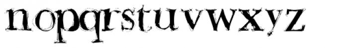 Buttskerville Light Font LOWERCASE