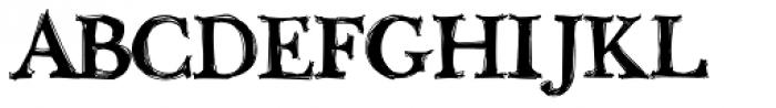 Buttskerville Font UPPERCASE