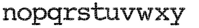 Buttzilla Bold Font LOWERCASE