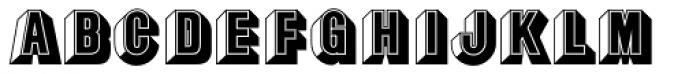 Buxom D Font LOWERCASE