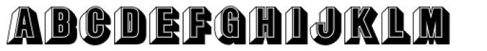Buxom EF Font UPPERCASE