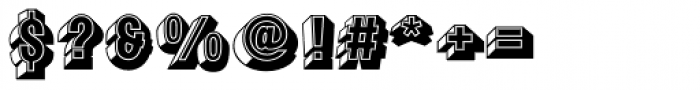 Buxom Std Regular Font OTHER CHARS