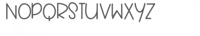 Bumbly Font UPPERCASE