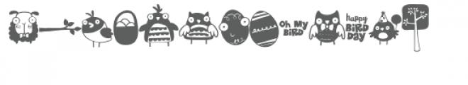 bug eyed spring doodlebat Font LOWERCASE