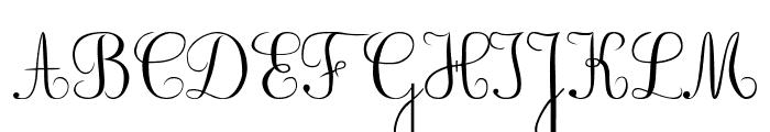 BV_Rondes2 Font UPPERCASE