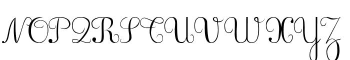 BV_Rondes Font UPPERCASE