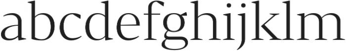 Bw Darius Light otf (300) Font LOWERCASE