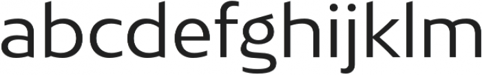 Bw Mitga otf (400) Font LOWERCASE