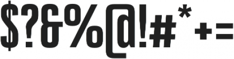 Bw Stretch Black otf (900) Font OTHER CHARS