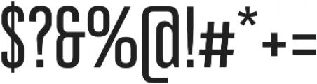 Bw Stretch Medium otf (500) Font OTHER CHARS