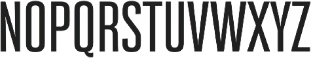 Bw Stretch Medium otf (500) Font UPPERCASE