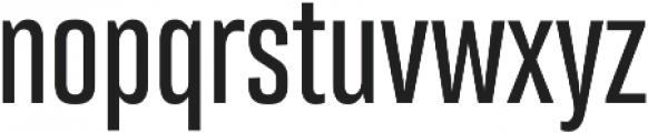 Bw Stretch Medium otf (500) Font LOWERCASE