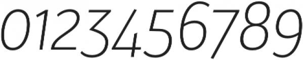 Bw Surco Light Italic otf (300) Font OTHER CHARS