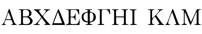 Bwgrkl Font UPPERCASE