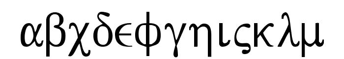 Bwgrkl Font LOWERCASE