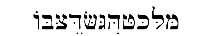 Bwhebb Font UPPERCASE