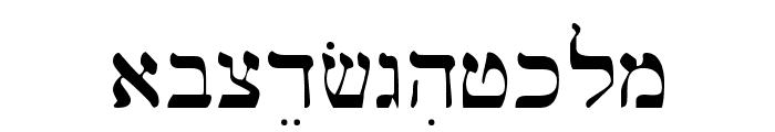 Bwhebb Font LOWERCASE
