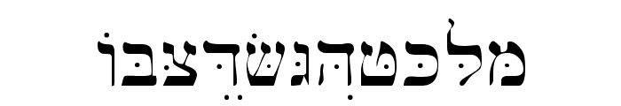 Bwhebl Font UPPERCASE