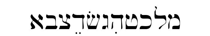 Bwhebl Font LOWERCASE