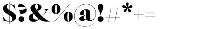 Bw Beto Grande Black Font OTHER CHARS