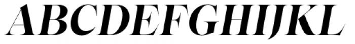 Bw Beto Grande Bold Italic Font UPPERCASE