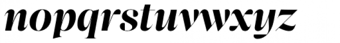 Bw Beto Grande Bold Italic Font LOWERCASE