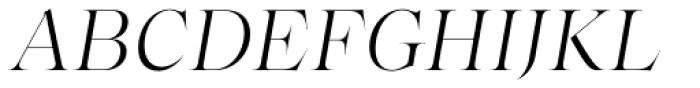 Bw Beto Grande Light Italic Font UPPERCASE