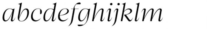 Bw Beto Grande Light Italic Font LOWERCASE
