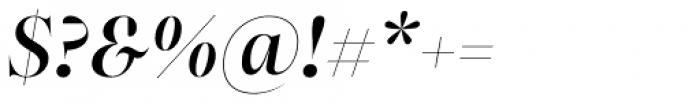 Bw Beto Grande Medium Italic Font OTHER CHARS