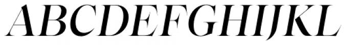 Bw Beto Grande Medium Italic Font UPPERCASE