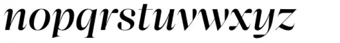 Bw Beto Grande Medium Italic Font LOWERCASE