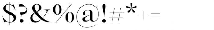 Bw Beto Grande Regular Font OTHER CHARS
