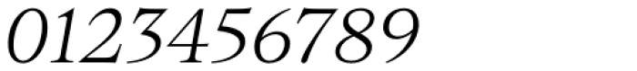 Bw Beto Light Italic Font OTHER CHARS