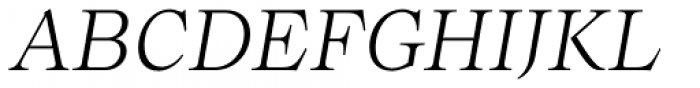 Bw Beto Light Italic Font UPPERCASE