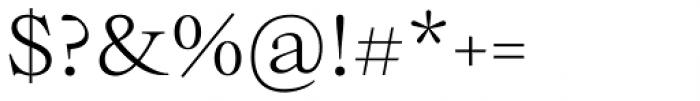 Bw Beto Light Font OTHER CHARS