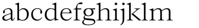 Bw Beto Light Font LOWERCASE