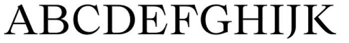 Bw Beto Regular Font UPPERCASE