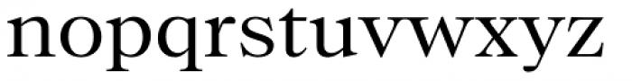 Bw Beto Regular Font LOWERCASE