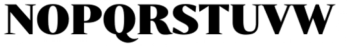 Bw Darius Black Font UPPERCASE
