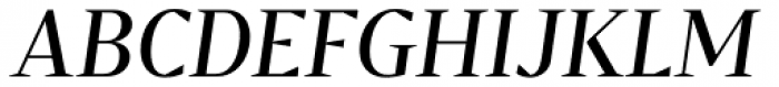 Bw Darius Regular Italic Font UPPERCASE