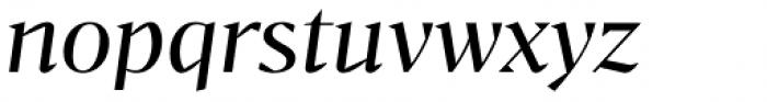 Bw Darius Regular Italic Font LOWERCASE