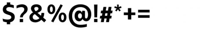 Bw Glenn Sans Bold Font OTHER CHARS