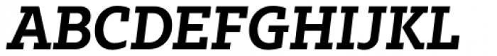 Bw Glenn Slab Bold Italic Font UPPERCASE