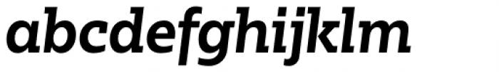 Bw Glenn Slab Bold Italic Font LOWERCASE